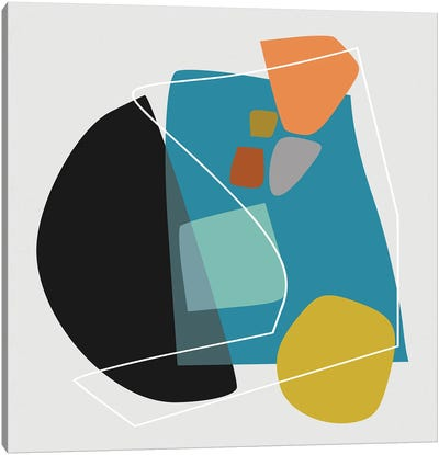 Overlapping Parts III Canvas Art Print