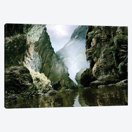 Lost River Canyon Canvas Print #AEZ27} by Angel Estevez Canvas Art