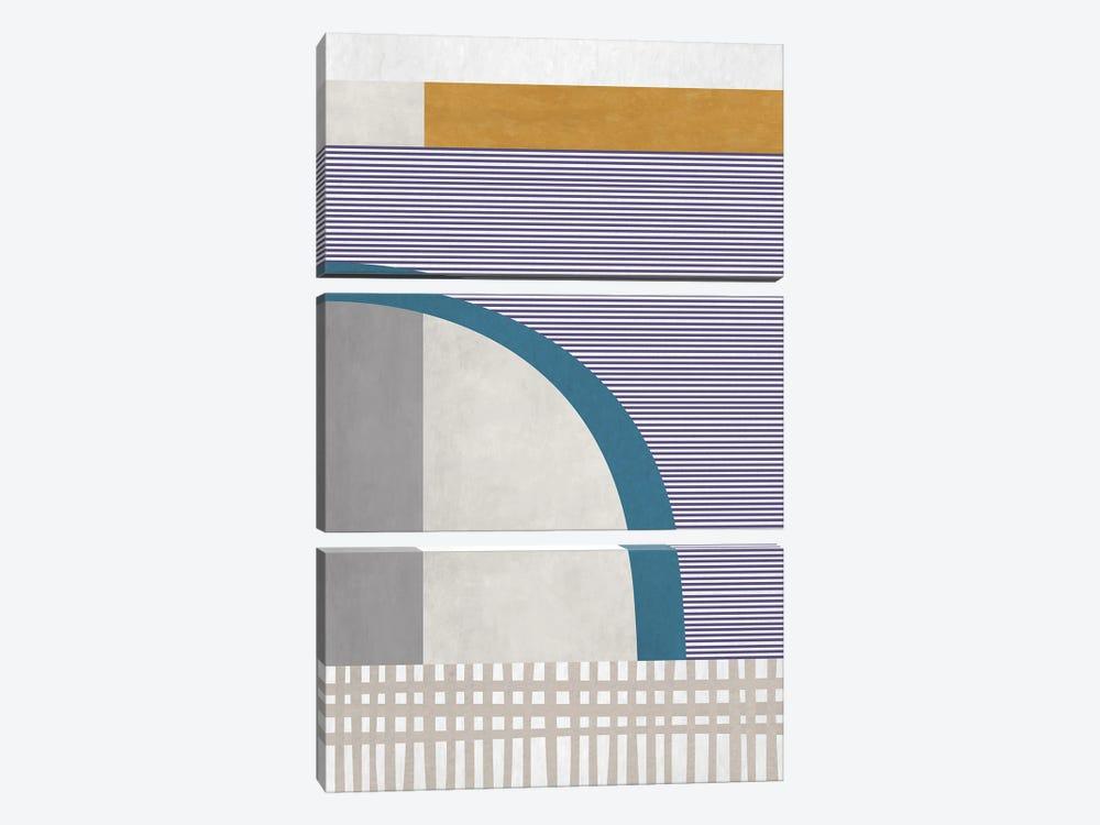 Patterns II by Angel Estevez 3-piece Canvas Art