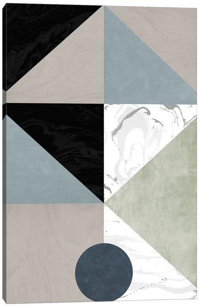Solitary Circle Canvas Art Print