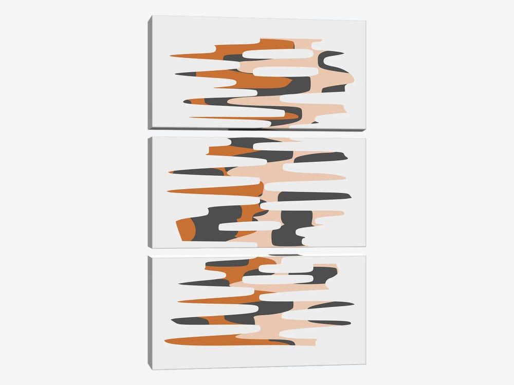 Winding Path II by Angel Estevez 3-piece Art Print