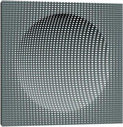 3D Sphere Canvas Art Print