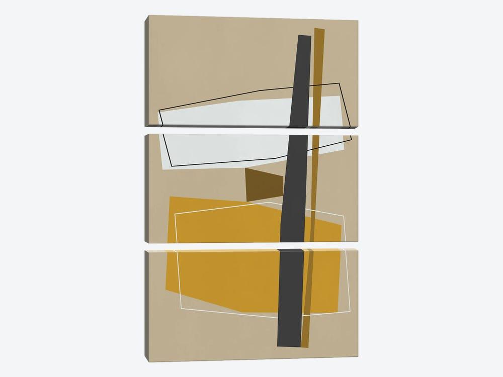 Balanced Parts by Angel Estevez 3-piece Canvas Print