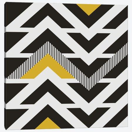 Black, White And A Little Bit Of Yellow Canvas Print #AEZ289} by Angel Estevez Art Print