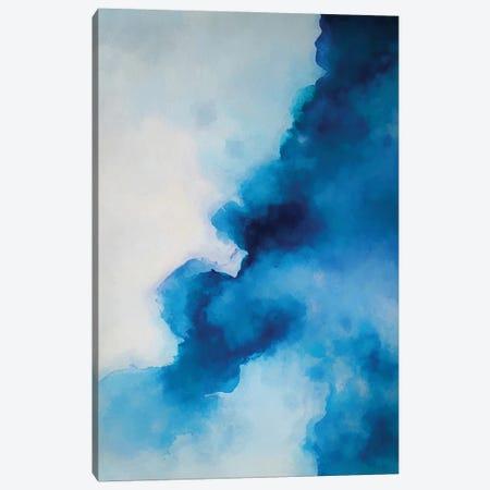 Blue Ink Canvas Print #AEZ290} by Angel Estevez Canvas Artwork