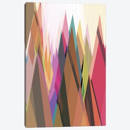 Colored Peaks Canvas Print #AEZ291} by Angel Estevez Canvas Art