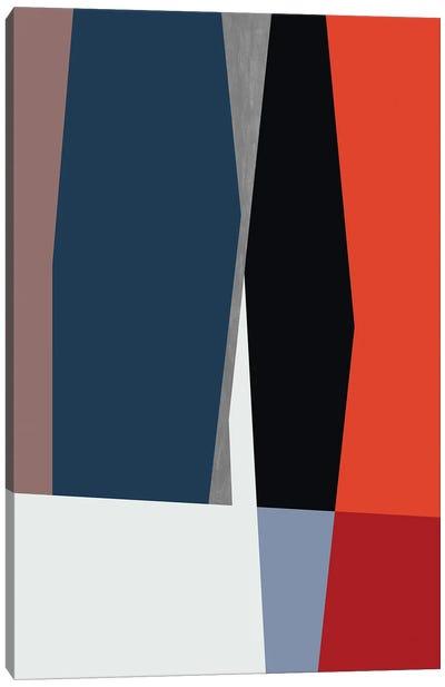 Cropped Stripes Canvas Art Print