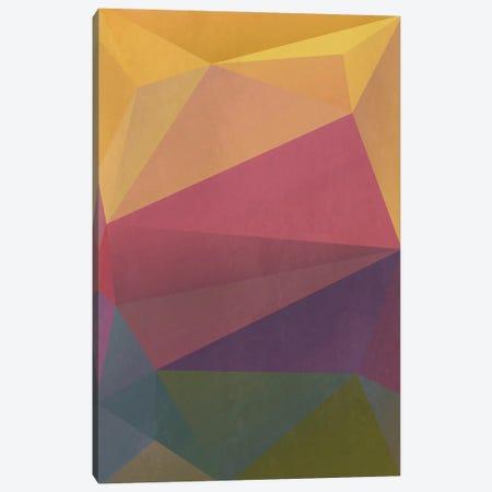 Interconnected Triangles I Canvas Print #AEZ297} by Angel Estevez Canvas Art Print