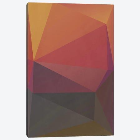 Interconnected Triangles III Canvas Print #AEZ299} by Angel Estevez Canvas Wall Art