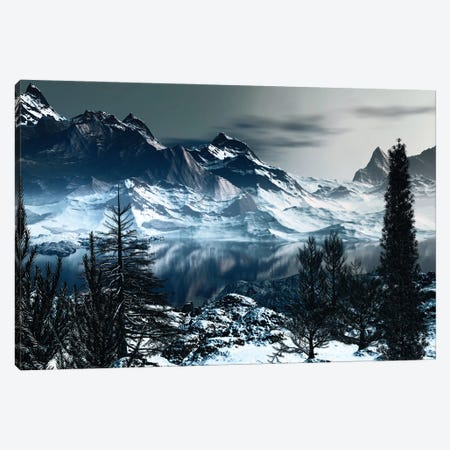 Majestic Mountains Canvas Print #AEZ29} by Angel Estevez Canvas Art Print