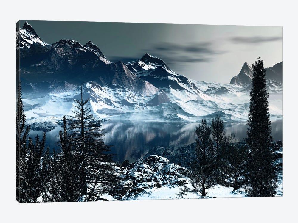 Majestic Mountains by Angel Estevez 1-piece Canvas Art