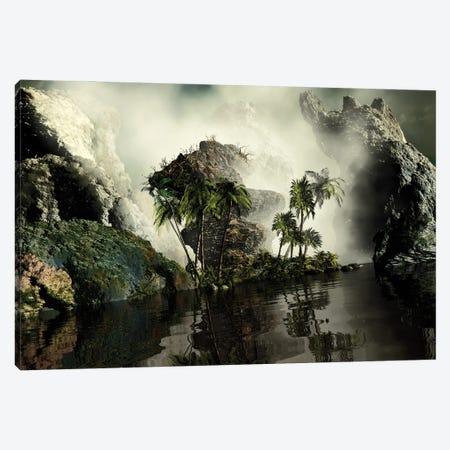 Amazing River Canvas Print #AEZ2} by Angel Estevez Canvas Wall Art