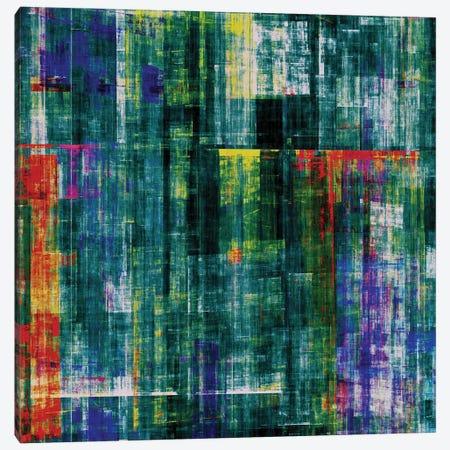 Matrix In Green Canvas Print #AEZ301} by Angel Estevez Canvas Art