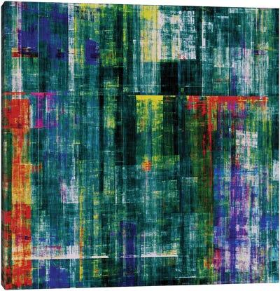 Matrix In Green Canvas Art Print