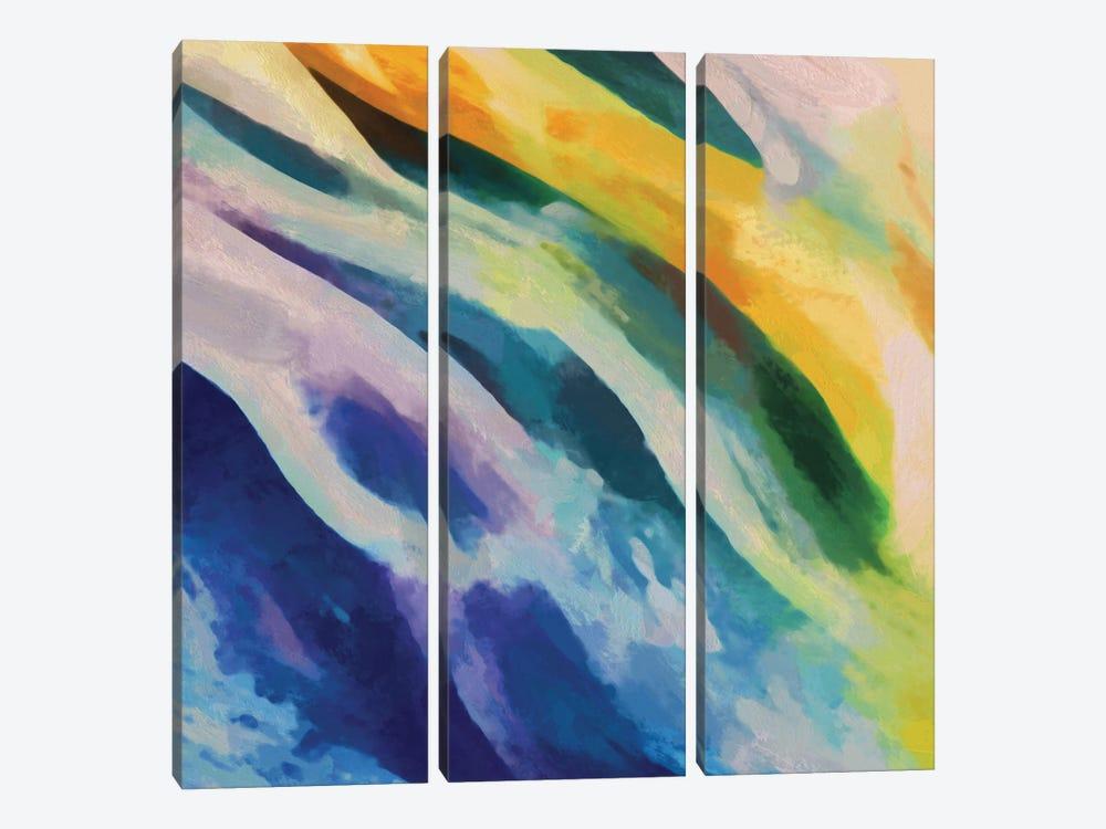 Meeting Of Waters by Angel Estevez 3-piece Canvas Artwork