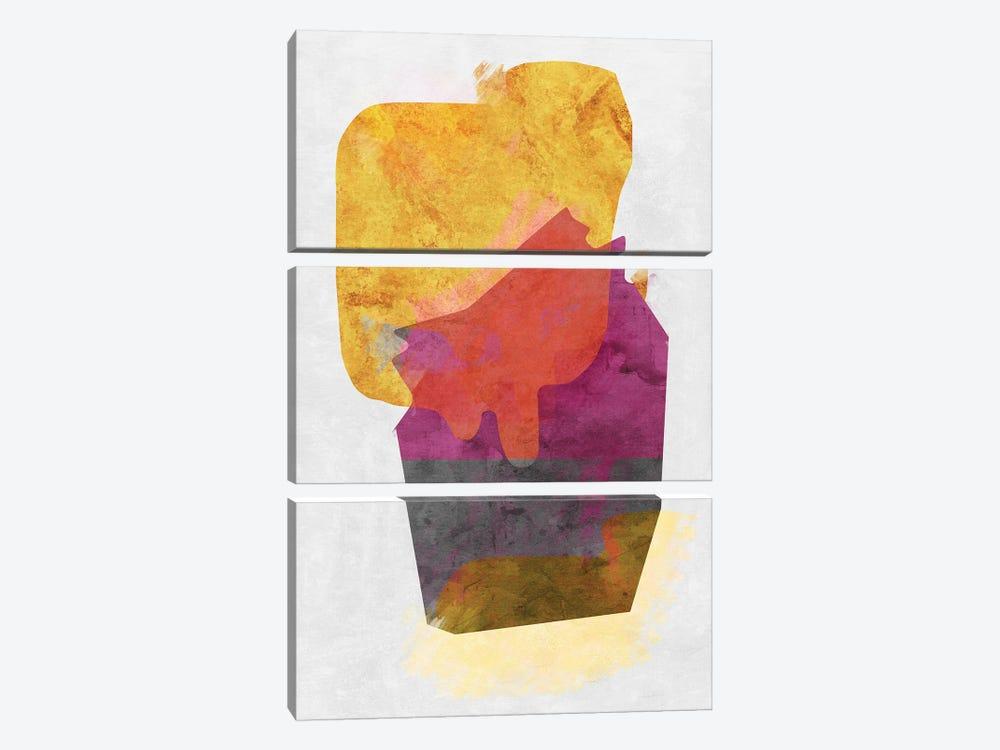 Mixing Paints by Angel Estevez 3-piece Canvas Art Print