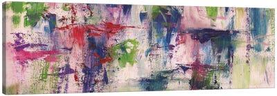 Random Brush Strokes Canvas Art Print