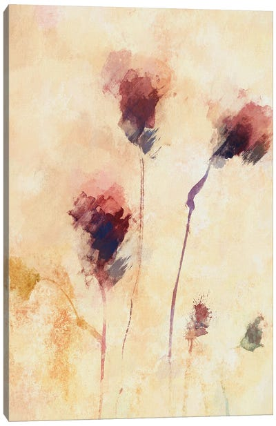 Deconstructed Flowers Canvas Art Print