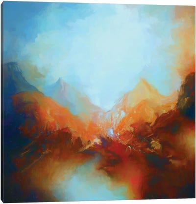 Mountainous Scenery Canvas Art Print