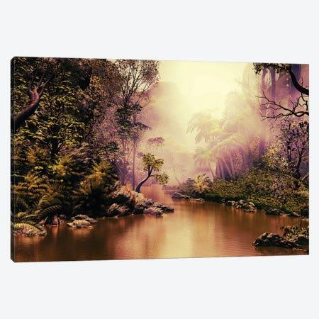 Mysterious Jungle Canvas Print #AEZ33} by Angel Estevez Canvas Art