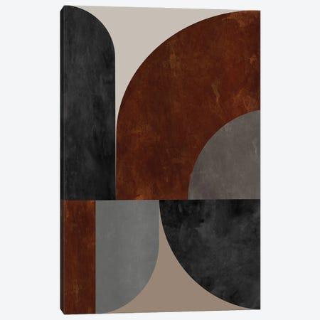 Geometry In Terracotta Tones Canvas Print #AEZ354} by Angel Estevez Canvas Wall Art