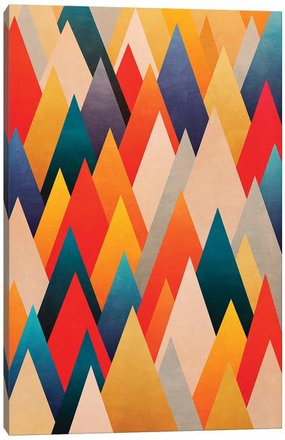 Multiple Triangles Canvas Art Print