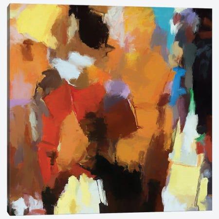 Random Brush Strokes II Canvas Print #AEZ368} by Angel Estevez Canvas Artwork