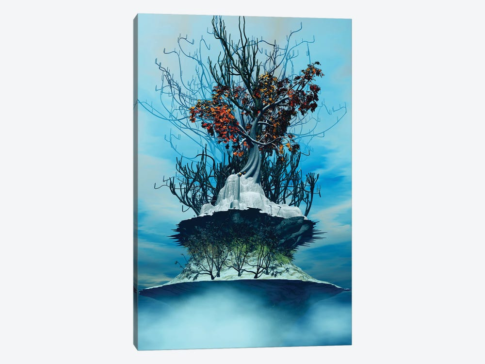 On The Top Of The Top by Angel Estevez 1-piece Canvas Wall Art