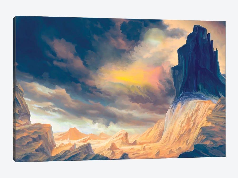 Oniric Landscape by Angel Estevez 1-piece Art Print