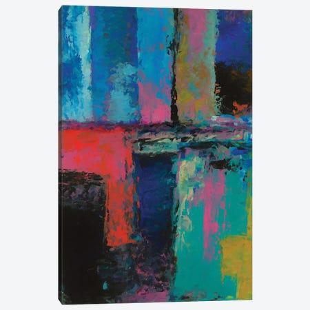 Rustic Geometric II Canvas Print #AEZ380} by Angel Estevez Canvas Artwork