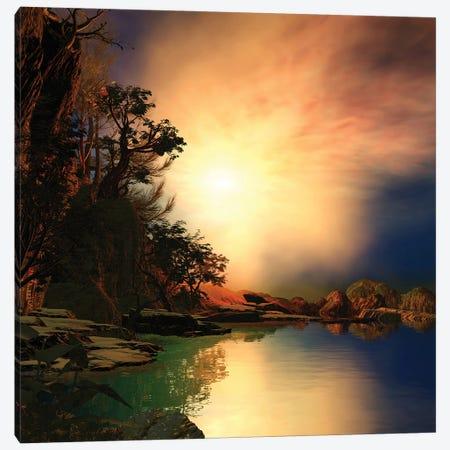 Peaceful And Eerie Canvas Print #AEZ38} by Angel Estevez Canvas Artwork