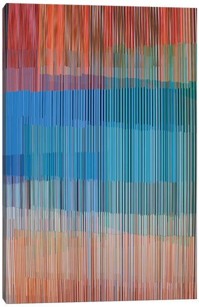 Vertical Lines II Canvas Art Print