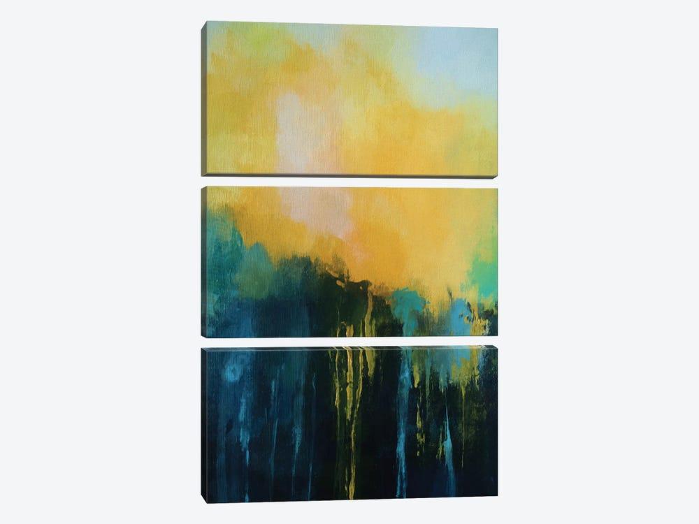 Waterfall by Angel Estevez 3-piece Canvas Art