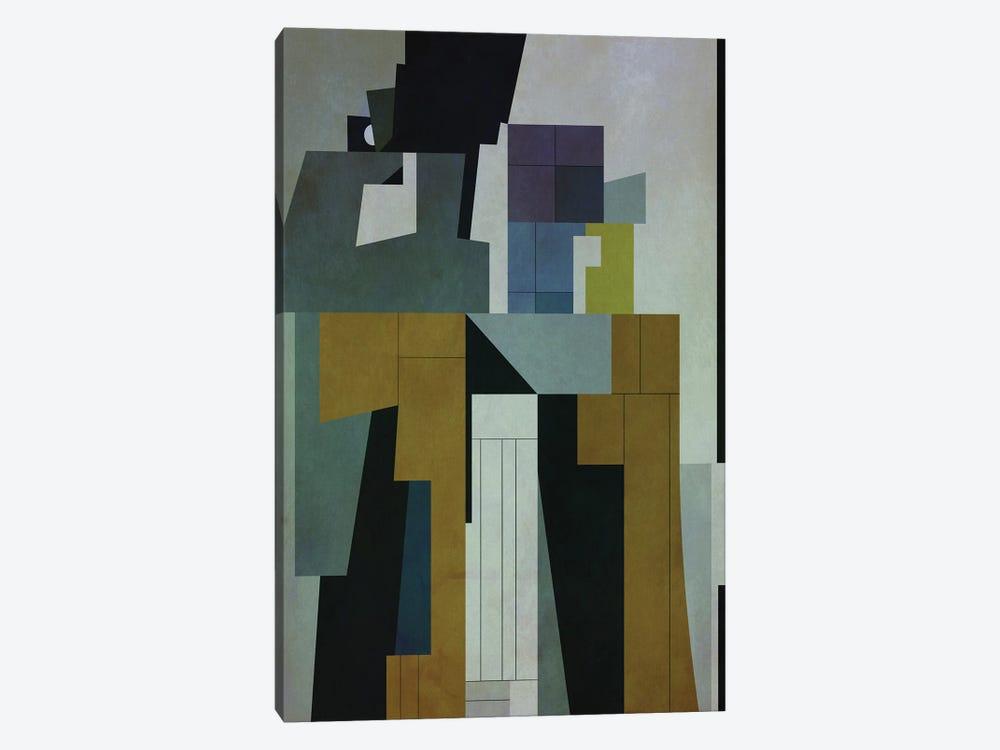 Buildings II by Angel Estevez 1-piece Canvas Art Print