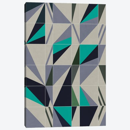 Combination Of Squares And Rectangles With Geometric Shapes Canvas Print #AEZ398} by Angel Estevez Canvas Art Print
