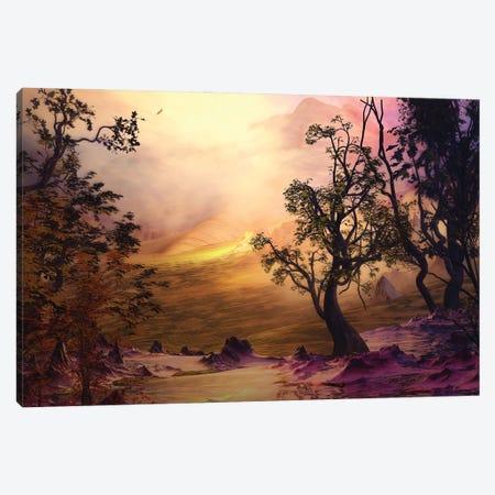 Pink-Toned Landscape Canvas Print #AEZ39} by Angel Estevez Canvas Artwork