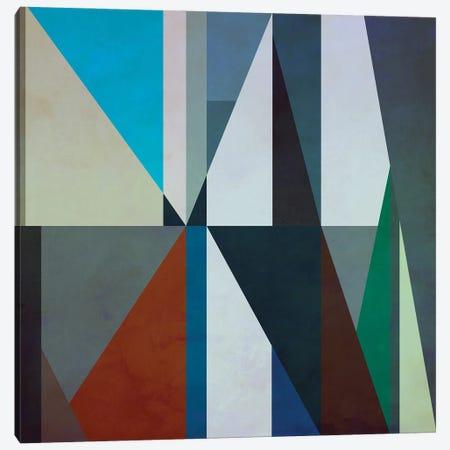 Geometric Pattern With Triangles Canvas Print #AEZ400} by Angel Estevez Canvas Art Print