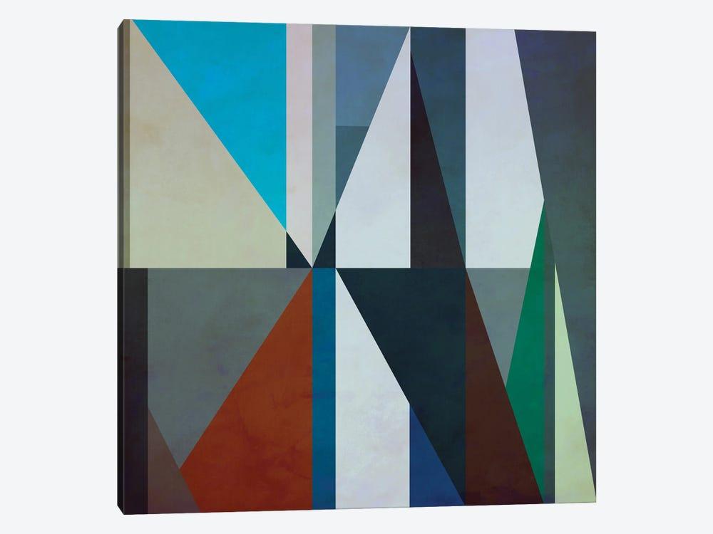 Geometric Pattern With Triangles by Angel Estevez 1-piece Canvas Artwork