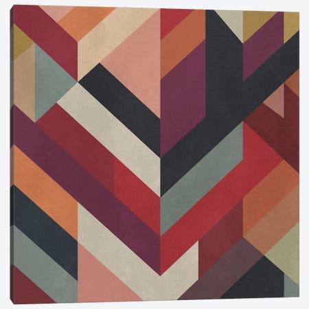 Meeting Of Diagonals II Canvas Print #AEZ401} by Angel Estevez Canvas Art Print