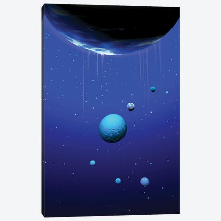 Planets Canvas Print #AEZ40} by Angel Estevez Canvas Print