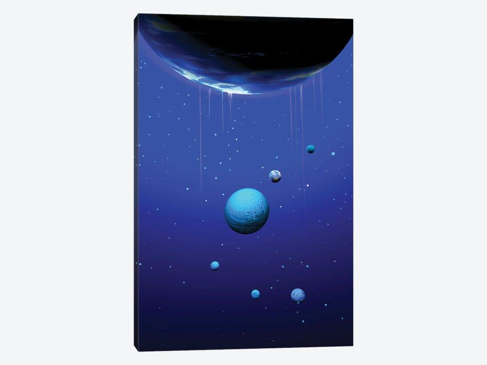 Planets by Angel Estevez 1-piece Canvas Art Print