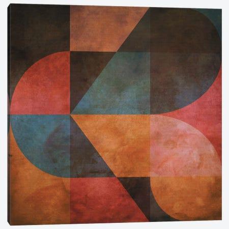 Textured Geometric Pattern II Canvas Print #AEZ411} by Angel Estevez Canvas Wall Art