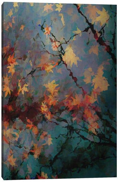 Autumnal Foliage II Canvas Art Print
