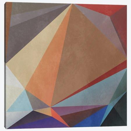 Interconnected Triangles VII Canvas Print #AEZ425} by Angel Estevez Canvas Artwork