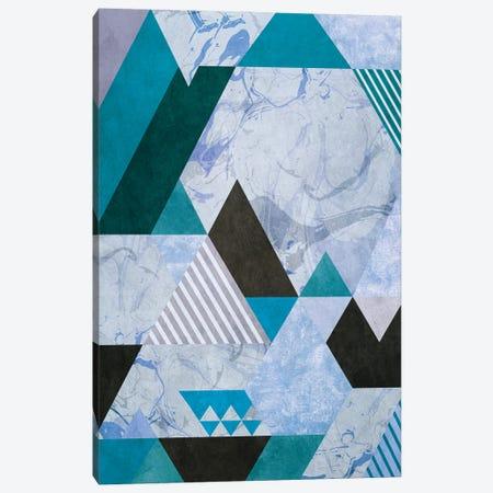 Set of Triangles Canvas Print #AEZ433} by Angel Estevez Canvas Artwork