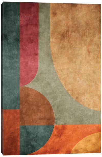 Textured Geometric Pattern V Canvas Art Print