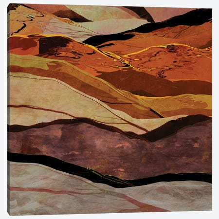 Colorful Mountains V Canvas Print #AEZ451} by Angel Estevez Canvas Wall Art