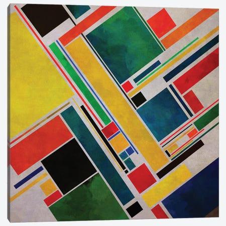 Diagonal Geometry II Canvas Print #AEZ453} by Angel Estevez Canvas Artwork