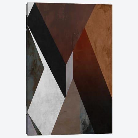 Geometric in Brown Tones Canvas Print #AEZ458} by Angel Estevez Canvas Art