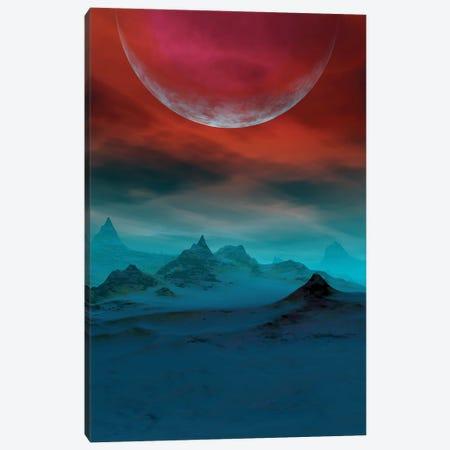 Red Sky Canvas Print #AEZ45} by Angel Estevez Canvas Art